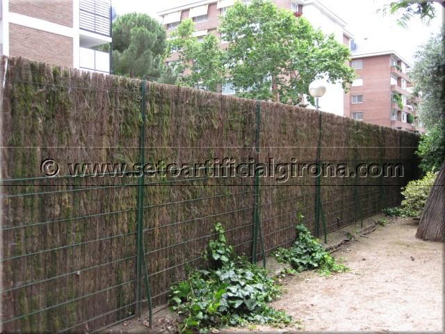 Venta brezo natural girona para vallas y ocultaciones - Cierres de jardin ...