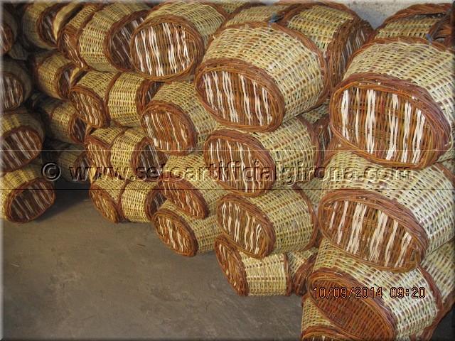 Cestos artesanales mimbre venta cestos ecologicos fabricacion ...