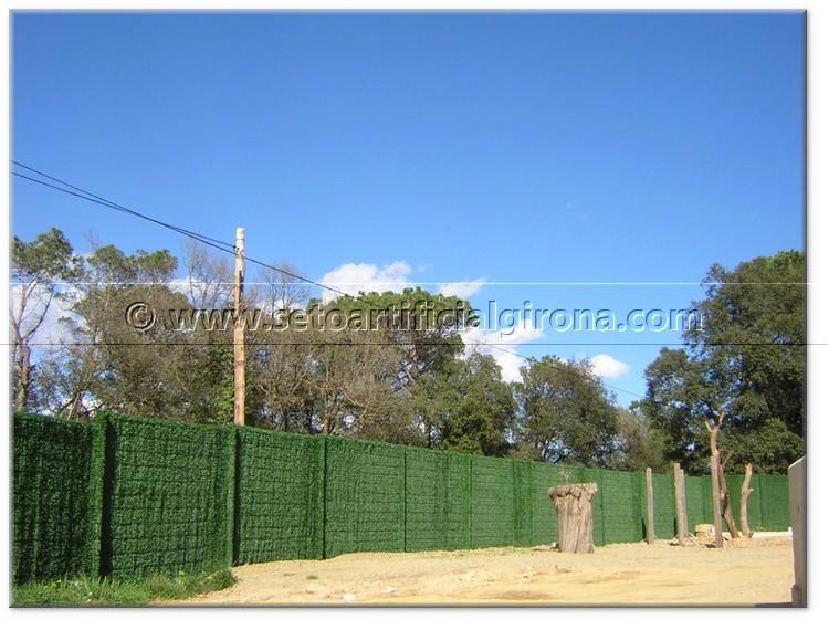 Girona entorno de seto artificial exclusive girona venta for Vallas de plastico para jardin